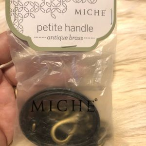 Miche Petite Antique Brass handle/strap NIP